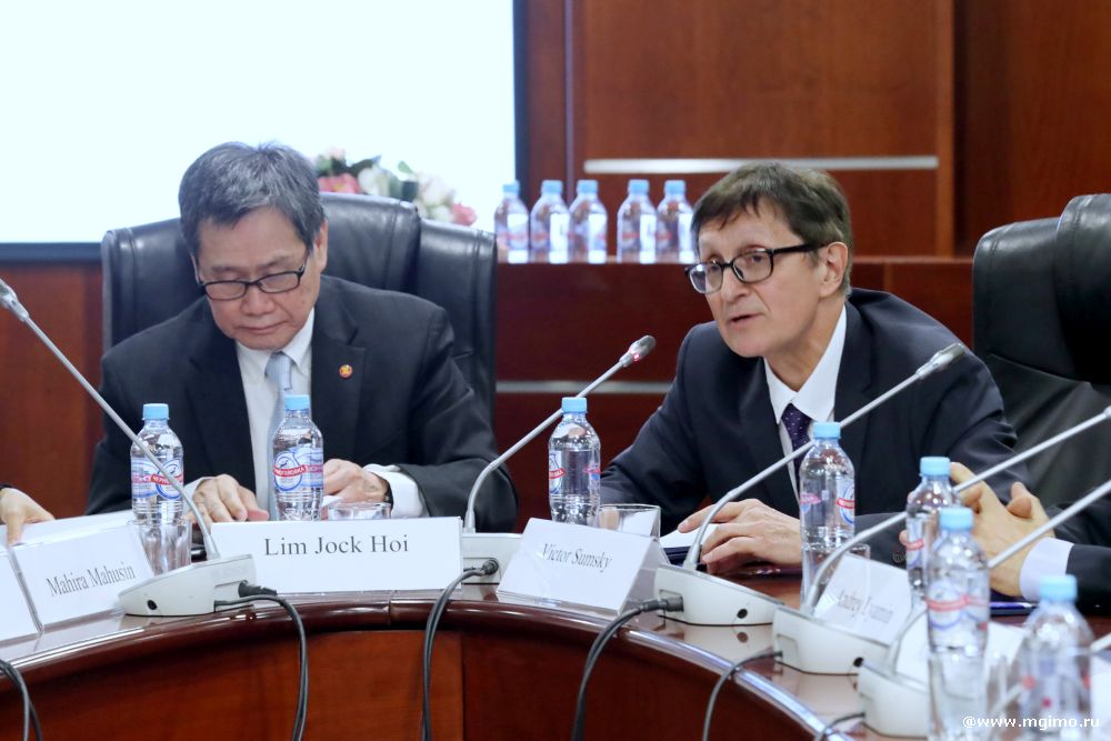 MGIMO Welcomes ASEAN Secretary General Lim Jock Hoi