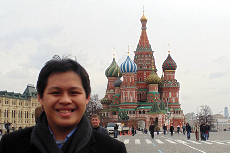 Russia in the eyes of a young Filipino