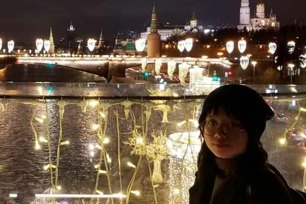 "Nguyen Le Minh Thi: ""I've already left my heart in Moscow!"""