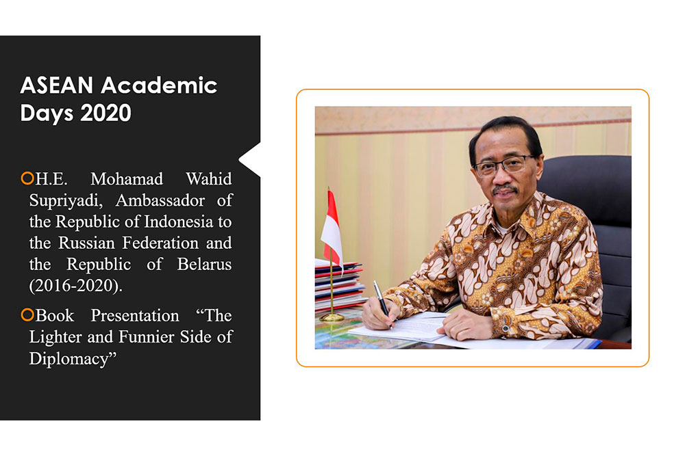 ASEAN Academic Days: Online Book Presentation by W.Supriyadi