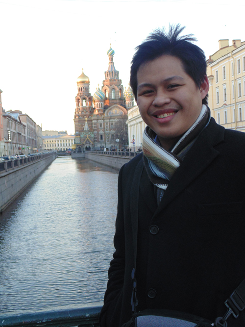 John Paul P. Mondejar: Russia in the eyes of a young Filipino